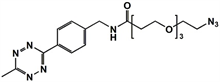 Picture of Methyltetrazine-amino-PEG<sub>3</sub>-azide